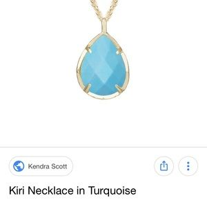 Simple necklace by Kendra Scott